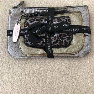 Victoria's Secret Cosmetic Makeup Bag (Set of 3)